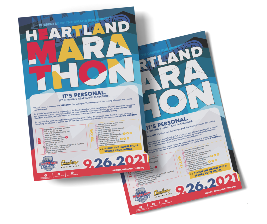 Heartland Marathon Interactive Poster